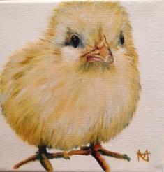 "Chick called ""Bonbon"""