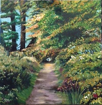 "Path through the forest, ""From a distance"""