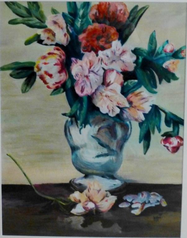 Impression - Vase of Flowers, Manet