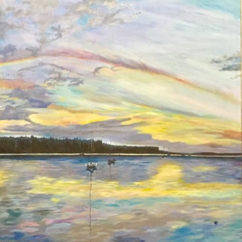Findhorn Bay - limited edition print